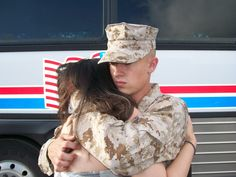 Heartbreak of leaving on first deployment. I remember it like yesterday when Brian left for the Gulf War. Dec 1,1990. - popculturez.com