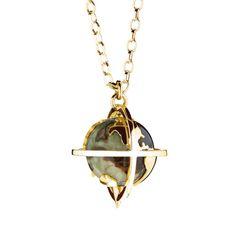 Explorer necklace gold 2