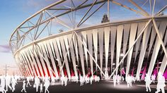 olympic stadium for london 2012 by populous