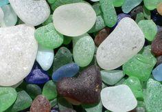 Beach glass -North Beach, Port Townsend-dm