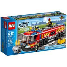 Đồ chơi LEGO 60061 Airport Fire Truck – Xe cứu hoả sân bay