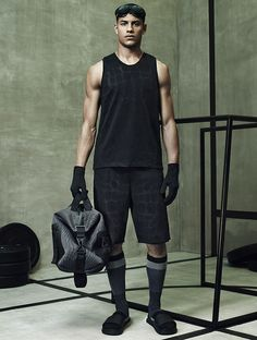 Collection 2014 Alexander Wang x H&M pour homme #modehomme #mode #alexanderwang #hm