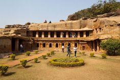 Top 15 Rock cut structures: Udayagiri and Khandagiri Caves, India