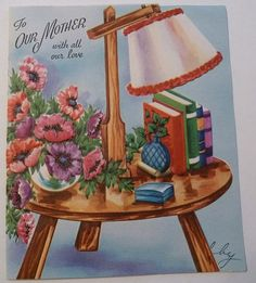 To our mother with all our love. #vintage #Mothers_Days #holidays #cards
