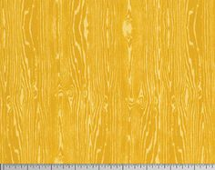 SALE Wood Grain in Gold by Joel Dewberry - Free Spirit - Yellow Fabric - Faux Bois - True Colors - Mustard Yellow - Wood Grain Fabric