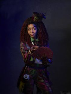 Celia Facilier is the daughter of Dr. Facilier, in the upcoming Disney Channel film, Descendants The Descendants, Descendants Pictures, Descendants Characters, Descendants Videos, Descendants Costumes, Disney Characters, Zombie Disney, Cameron Boyce, Stars Disney Channel