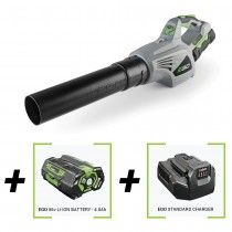 Ego Power + 56v cordless blower with 2.0Ah lithium ion battery and charger included