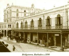 Barbados 1890. Cave Shepherd in Bridgetown...not much has changed!