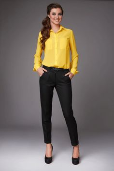 business-attire-for-women-yellow