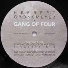 "Gang Of Four, Herbert Gronemeyer – Die Staubkornsammlung 12"" Membran – G04HGRAYS1"