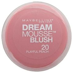 Maybelline Dream Mousse Blush - Playful Peach 20