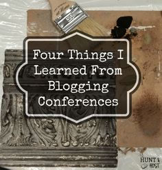 Lessons I Learned This Summer: Are you on the fence? Wondering if you should sign up and venture out in the blogging world? Worried about stepping out on any new adventure, nit just blogging. Check out the lessons I learned from my recent blog conference experiences! They are great life lessons. www.huntandhost.com