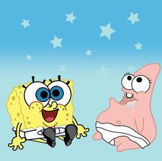 baby spongebob and patrick by hoogstad.deviantart.com on @deviantART