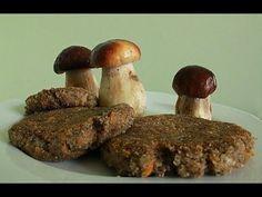 Kotlety mielone z grzybów :) - YouTube