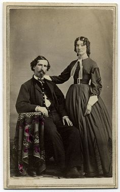 Michigan Soldier and Wife