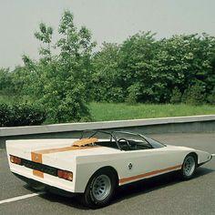 Alfa-Romeo P33 Cuneo Concept (Pininfarina) (1971)