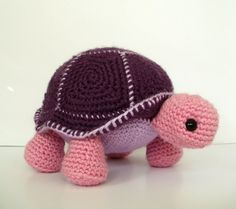 Crochet Pattern Orion the Turtle by BluephoneStudios on Etsy