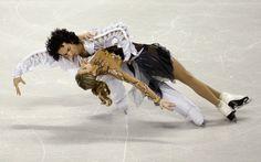 Ice Dancing -Tanith Belbin and Benjamin Agosto