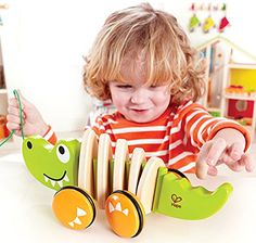Keep your child entertained and occupied wherever they go Toddlers will enjoy taking this friendly, flexible croc for walks Boosts coordination, balance, and physical strength...   toys4mykids.com