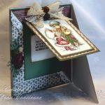 Triangle Joy Fold Card