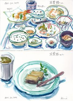 lunch at Kisoji by kumi matsukawa, via Flickr