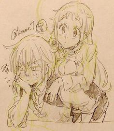 Elizabeth e Meliodas (pra quem não percebeu)