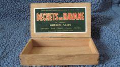 1931 Vintage French Cigar Box  Rare  by UnexpectingItems on Etsy, $26.50