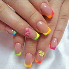 Resultado de imagem para nails art 2014 summer french
