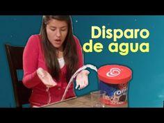 Broma del helado que dispara agua a Lesslie | Video de risa, broma con globo de agua en el helado - YouTube