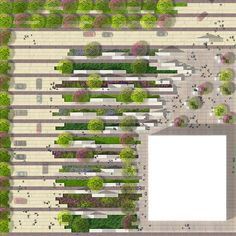 flower beds geometrical strips - Google Search