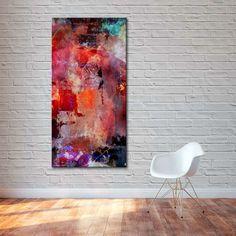 Wall Art – High quality canvas print - Motivating 70x100cm – a unique product by ArtShops  via en.DaWanda.com