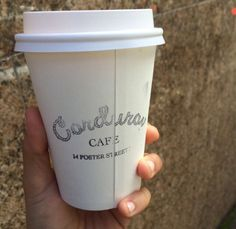 Coffee Sydney @ Corduroy Cafe