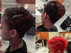 Want haircut for a special occasion? Visit Dessange Paris- Muscat and try our new Pixie haircut in Carmen Rouge. Reach us at: +968 2418 1738/+968 9401 8416 #Dessange #Muscat #beautysalon #beauty #salon #nails #makeup #hair #skincare #hairsalon #lashes #haircut #hairstyle #manicure #spa #haircolor #facial #waxing #hairstylist #nailart #pedicure #makeupartist #hairstyles #eyelashextensions #hairdresser #beautycare #brows #nailsalon #balayage #gelnails #massage Professional Hair Salon, Salon Nails, Facial Waxing, Sassy Hair, Good Hair Day, Pixie Haircut, 5 Ways, Beauty Care, Hairdresser