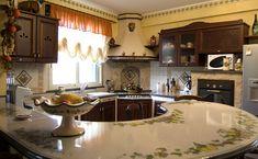 Resultado de imagem para cucina in muratura moderna con isola | casa ...