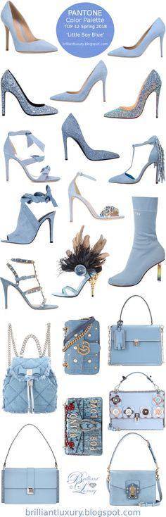 Brilliant Luxury ♦ Pantone Fashion Color ~ Little Boy Blue