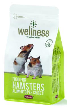 Da oggi per il tuo criceto c'è il mangime della linea Wellness.