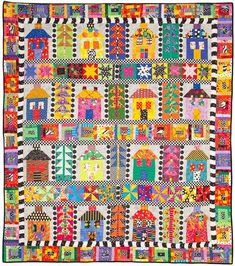 Freddy Moran House Quilt - love her quilts!!!