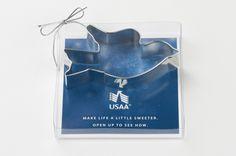 USAA Dove Custom Cookie Cutter