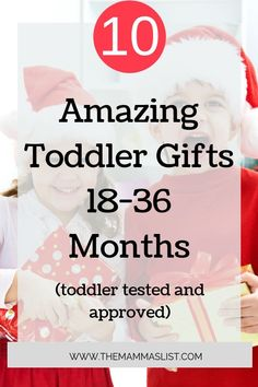 Shopping for toddlers this season? Look no further than the 10 amazing toddler gifts for 18-36 months. These toddler gifts are tested and approved for fun. They'll also last more than a month! Surprise your toddler with a gift they'll love. Click through to check them out.  #toddlers #giftguide #toddlergift #holiday Parenting Articles, Parenting Hacks, Toddler Milestones, Breastfeeding And Pumping, Toddler Christmas, Parenting Toddlers, Toddler Gifts, Toddler Stuff, Parent Gifts