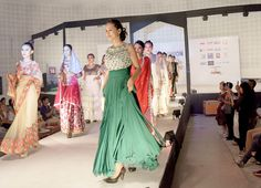 """Designer from Shillong lights up NE India Fashion Week - In an era where throwaway fashions are being increasingly questioned by a public that is concerned about the impact clothes have on the environment, Lynrah said, after returning to Shillong, """"Being the only representative from the state, it was my honour to showcase my traditional Khasi jainsems and a mix of traditional and western wear, and promote sustainable eco-fashion by featuring ryndia silk in the collection, which is a natural…"""