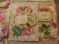 Anna Griffin Cards and Explore Video Link - YouTube