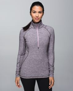 We hit the ground running year round so we made this half-zip to move with us. The  cozy fabric is soft against our skin as a base layer when it's chilly, and perfect over a tank when temperatures are on the rise. Race you to the park!