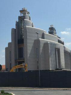 Rome Italy LDS (Mormon) Temple Construction Photographs