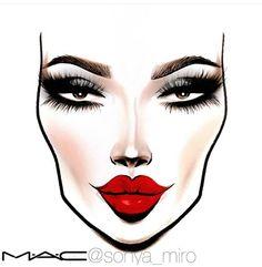 MAC Makeup illustrations ♦F&I♦