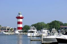 Hilton Head Island Lighthouse....   Sea Pines ~ official host of the Heritage Golf Classic