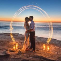 WEDDING IDEAS & INSPIRATIONS  An intimate coastal elopement with a barefoot beach bride in an