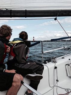 Day Trip Sailing in Rostock / Warnemuende with a Seascape 24 by Speedsailing