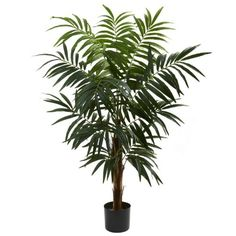 Wholesale 4.5Ft Bulb Areca Tree, [Decor, Silk Flowers] *** You can find more details by visiting the image link.