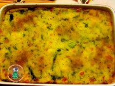 Gattò di patate con asparagi e scamorza, una simpatica variante del gattò di patate alla napoletana, primo piatto molto saporito e ricco che fa parte della tradizione culinaria di famiglia.