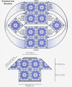 Receitas de Crochet: Pulover de croche